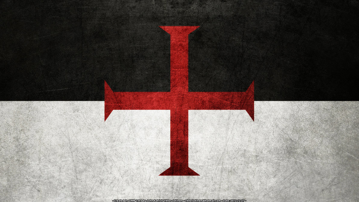 Knights Templar Flag Symbolism Truth Control